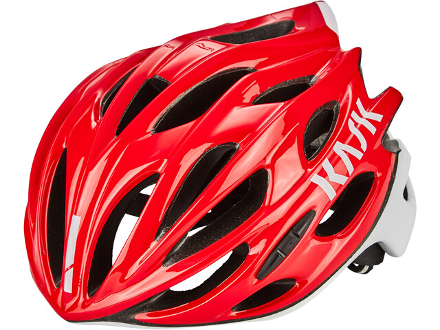 Kask Mojito X Fietshelm, red/white